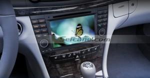 2001-2008 Mercedes-Benz G-Class W463 car stereo after installation