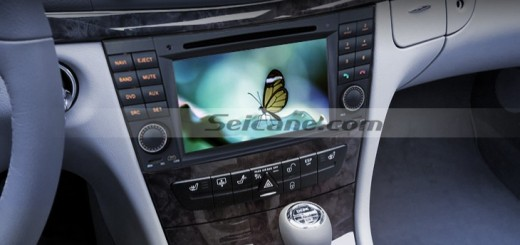 2001-2008 Mercedes-Benz G-Class W463 car stereo after installation