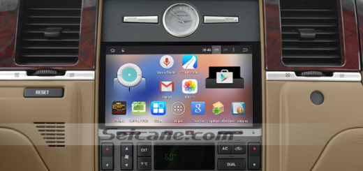 2002-2011 NISSAN MURANO car stereo after installation