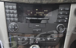 2004-2008 Mercedes Benz CLS Class W219 head unit installation step 1