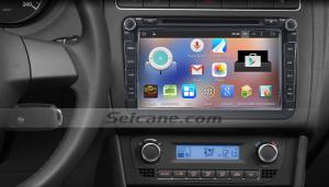 2004-2013 Skoda FABIA car stereo after installation