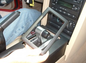 2005 2006 Mercury Montego car radio installation step 1