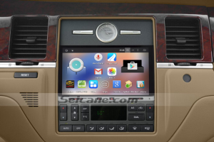 2005-2011 NISSAN PALADIN car stereo after installation