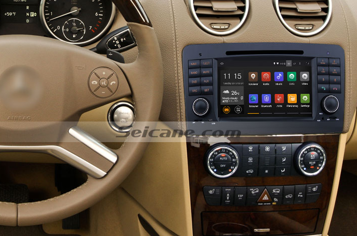 A detailed installation guide for a 2005 2012 mercedes for Mercedes benz stereo installation