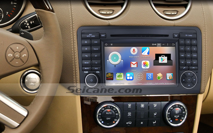 How to upgrade the 2005 2012 mercedes benz gl class x164 for Mercedes benz stereo installation