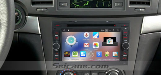 2006-2011 Chevy Chevrolet Epica car stereo after installation