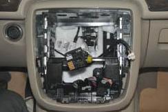 2006-2012 Mercedes-Benz R class W251 radio installation step 6