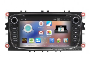 2008-2011 Ford Focus head unit