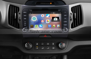 2010-2013 Kia Sportagen car stereo