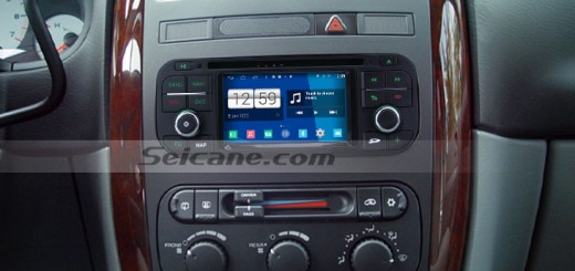 1999-2004 Jeep Grand Cherokee car stereo after installation