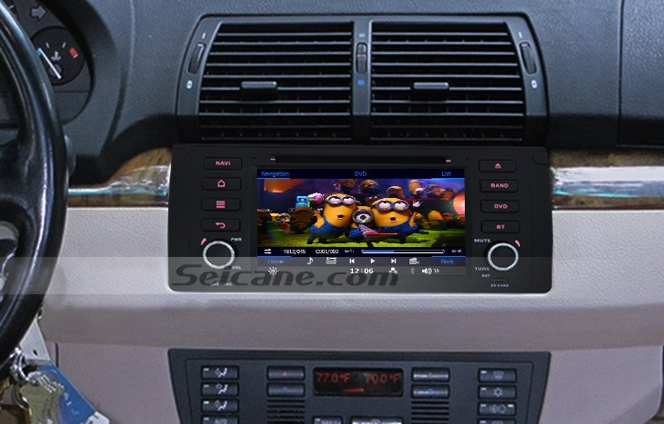 Bmw X E M Radio After Installation