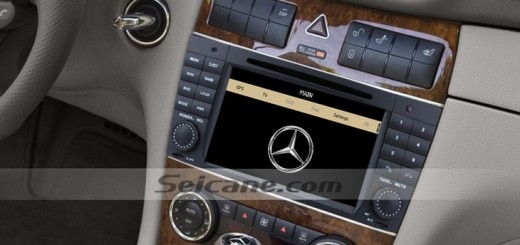How to use bluetooth in a 2004 2007 mercedes benz c class for Mercedes benz stereo installation