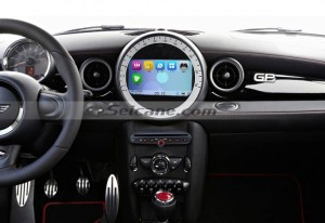 2006-2013 BMW Mini Cooper car stereo after installation