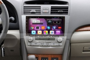 2007-2011 Toyota CAMRY car stereo after installation