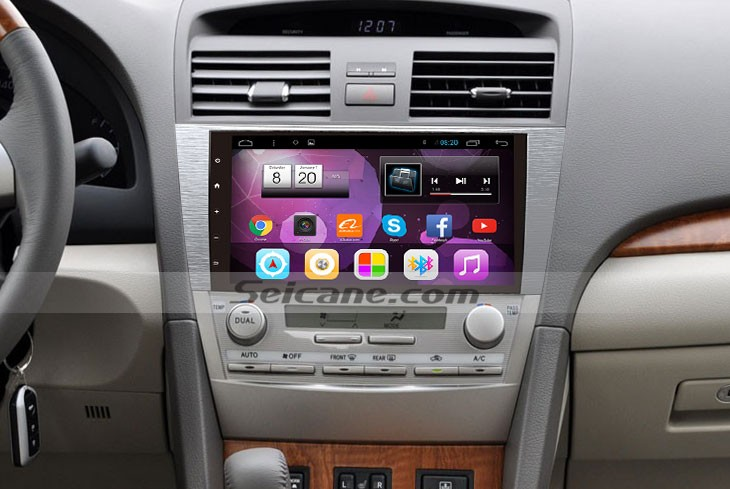 How To Upgrade A 20072011 Toyota Camry Car Stereo With 3g Wifi Rhcarstereofaqs: 2005 Toyota Camry Aftermarket Radio At Gmaili.net