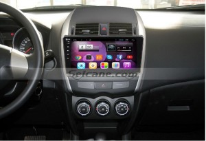 2008 Toyota Corolla car stereo after installation