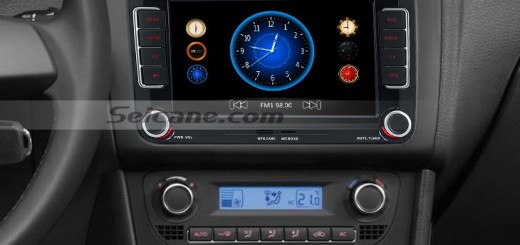 How to install a 2014 2015 VW Volkswagen PASSAT car radio with Touch
