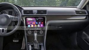 2014 2015 VW Volkswagen PASSAT car radio after installation