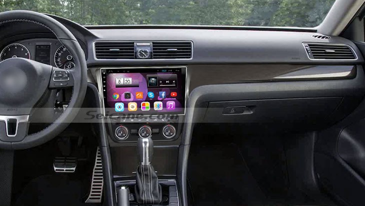 2014 2015 vw volkswagen passat car radio after installation