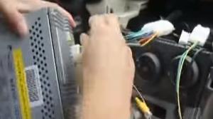 7. Put the original radio plug into our Seicane radio as user manual shows