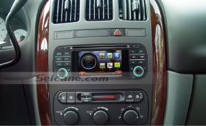 2002 2003 2004 2005 2006 Chrysler Sebring car stereo after installation