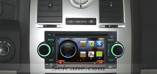 2003 2004 2005 2006 Jeep Wrangler car stereo after installation