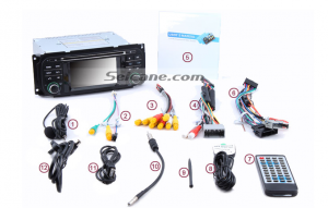 7.Connect the cables of the new Seicane car stereo according to the guidance of the user manual.