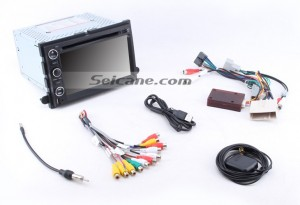 Check all the accessories for the new Seicane car stereo