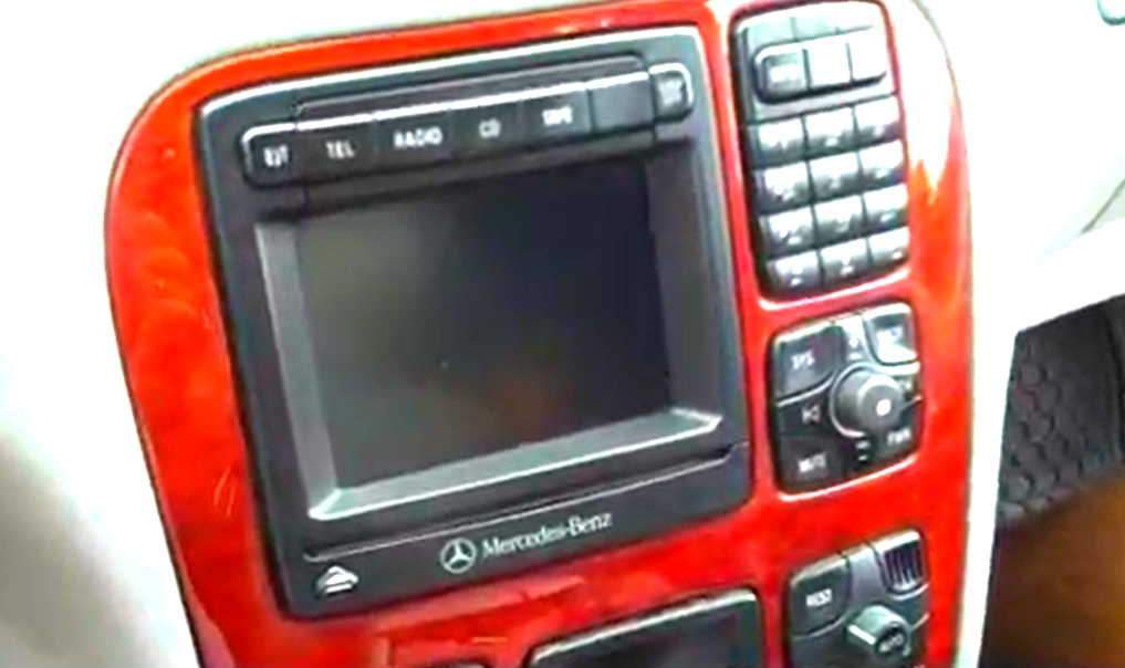 12 steps to replace a 1998 2005 mercedes s class w220 car radio with 16g flash hd 1024 600