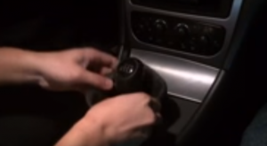 Remove your shifter boot