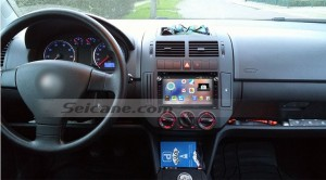 2001-2011 VW Volkswagen MK5 car stereo after installation
