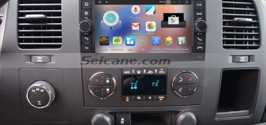 2006-2013 BMW Mini Cooper S D head unit after installation