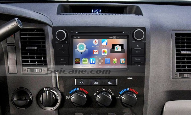 How To Upgrade A 2008 2014 Toyota Sequoia Head Unit With