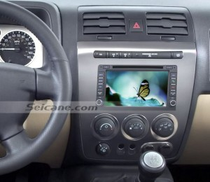 Chevrolet Uplander car stereo after installation