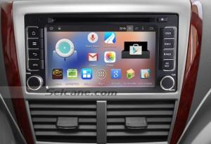 2008-2013 SUBARU Forester Impreza car radio  after installation