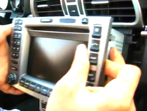Carefully take the radio out of the dashboard