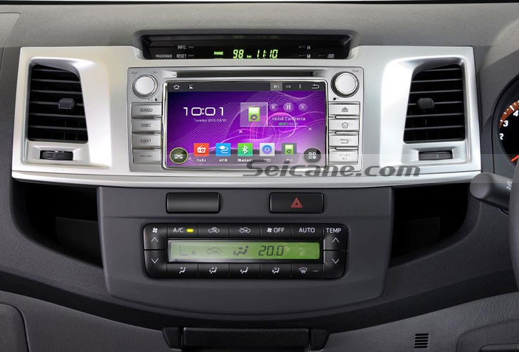How To Install A 2012 Toyota Hilux Head Unit With Android