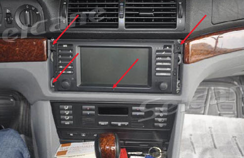 The Easy Way To Install A 2000 2006 Bmw X5 E53 Gps