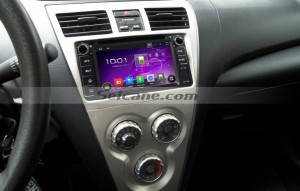 2006-2010 Toyota Terios android navigation dvd player after installation