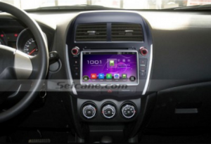 2010-2013 Mitsubishi ASX bluetooth dvd gps navigation after installation