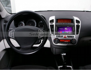 Seicane 2006-2012 KIA Carens navigation system car radio after installation