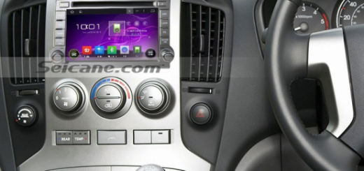 Seicane 2009-2012 Hyundai H1 GPS Nav head unit after installation