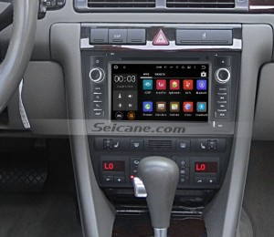 1997-2004 AUDI A6 S6 RS6 gps car navigation system after installation