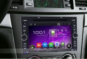 2002-2011 Chevy Chevrolet AVEO gps dvd car radio after installation
