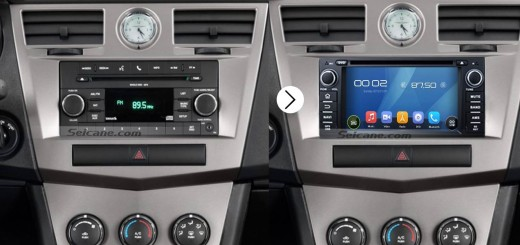 2006-2011 Chevy Chevrolet Epica gps stereo audio system after installation