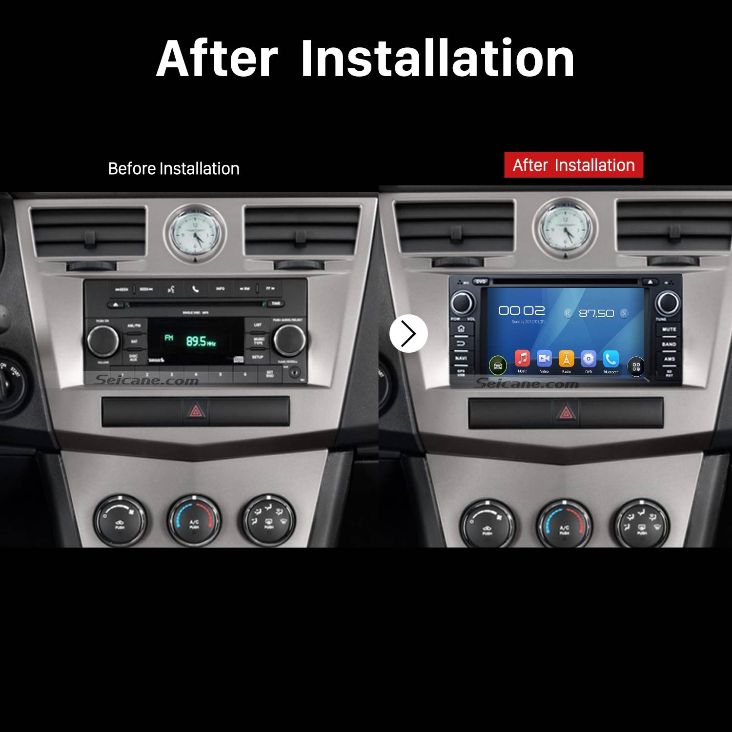Detailed Removal And Installation Steps For A 2006 2011 Chevy 06 Grand Cherokee Factory Amplifier Wiring Chevrolet Epica Gps Stereo Audio System After
