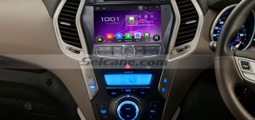 2013 Hyundai IX45 in dash radio after installation