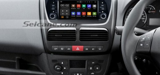 2014 FIAT DOBLO gps bleutooth head unit after installation