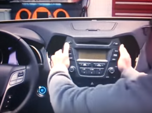 Pull the factory head unit out of the dash. Pull it with medium force, as the wires are connected to the head unit