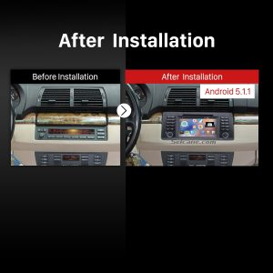 1996-2003 BMW 5 Series E39 520i 523i 525i M5 Stereo Sound System after installation